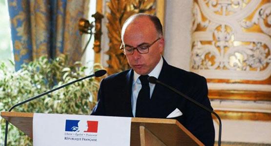 Visite du ministre de l'intérieur M. Bernard CAZENEUVE à la Grande Mosquée de Lyon
